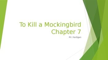 To Kill a Mockingbird Chapter 7 Visual Guide