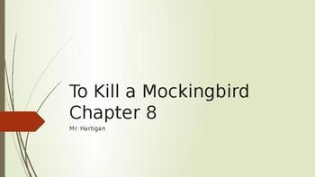 To Kill a Mockingbird Chapter 8 Visual Guide