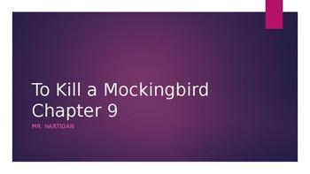 To Kill a Mockingbird Chapter 9 Visual Guide