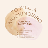 To Kill a Mockingbird Chapter Questions