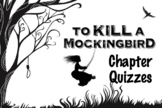 EDITABLE To Kill a Mockingbird Chapter Quizzes with Answers