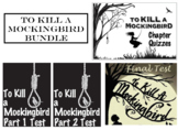 To Kill a Mockingbird Chapter Quizzes and Test BUNDLE