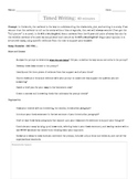 To Kill a Mockingbird Chapters 1-4 Timed Writing Activity