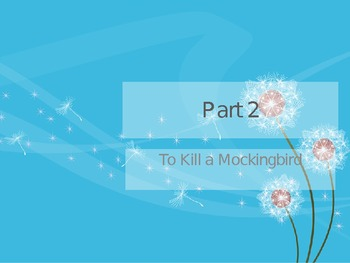 To Kill a Mockingbird: Chapters 11-20 PowerPoint