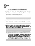 To Kill a Mockingbird Chapters 6-8 Assessment