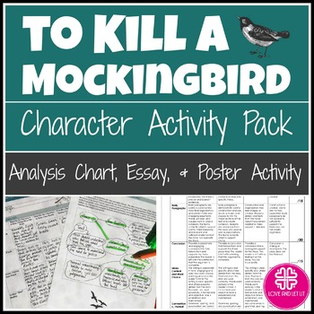 an analysis of the characters of to kill a mockingbirl The main characters of the book are atticus finch, a lawyer his daughter, a six- year-old girl jean louise finch (nicknamed scout), a protagonist her brother.