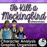 To Kill a Mockingbird Character Analysis Graphic Organizers