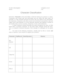 To Kill a Mockingbird Character Classification Graphic Organizer