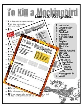 To Kill a Mockingbird Review Game & Quiz