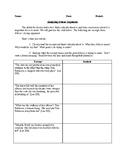 To Kill a Mockingbird - Close Reading/Analysis Activity -