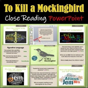 To Kill a Mockingbird: Close Reading PowerPoint