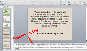 To Kill a Mockingbird: Close Reading PowerPoint Chapters 1 & 2