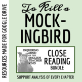 To Kill a Mockingbird Close Reading Worksheets Bundle (Set of 26)