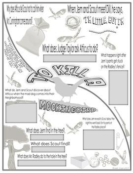 To Kill a Mockingbird Color-Fill Film Guide