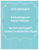 To Kill a Mockingbird Common Core Background Research WebQuest