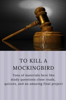 To Kill a Mockingbird Complete Unit