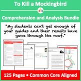 To Kill a Mockingbird – Comprehension and Analysis Bundle