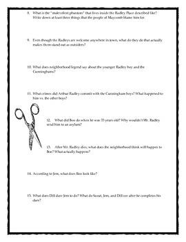 To Kill a Mockingbird Comprehensive Discussion Question Bundle