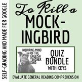 To Kill a Mockingbird Quiz Bundle (Set of 13 Assessments & Bonus Content)