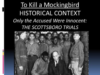 To Kill a Mockingbird Context Lesson: The Scottsboro Boys