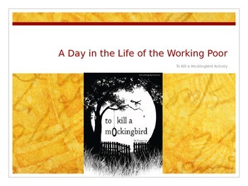 To Kill a Mockingbird Context Lesson: Working Poor