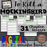 To Kill a Mockingbird: Digital Quizzes Google Edition