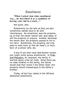 To Kill a Mockingbird--Entailment explanation