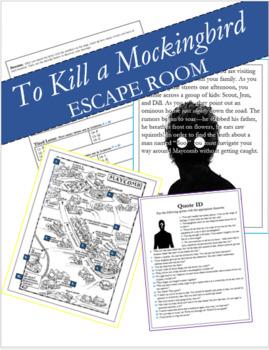 To Kill a Mockingbird Escape Room