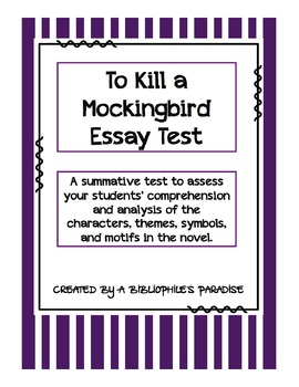 Essays Topics In English To Kill A Mockingbird Essay Questions Thesis Examples For Argumentative Essays also Healthy Living Essay To Kill A Mockingbird Essay Questions By A Bibliophiles Paradise Essay Examples For High School