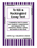 To Kill a Mockingbird Essay Questions