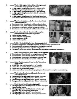 To Kill a Mockingbird Film (1962) 30-Question Multiple Choice Quiz