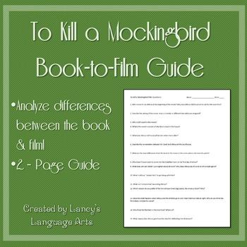 Film To Kill A Mockingbird Teaching Resources   Teachers Pay Teachers