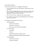 To Kill a Mockingbird Final Exam