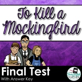To Kill a Mockingbird Test