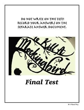 To Kill a Mockingbird Final Test