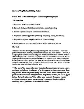 To Kill a Mockingbird Final Writing Project