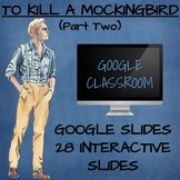 To Kill a Mockingbird (Google Classroom Interactive Component) (PART TWO)