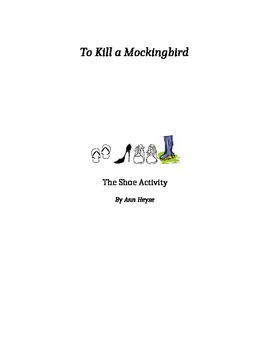 To Kill a Mockingbird Group Shoe Activity