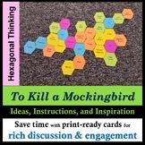 To Kill a Mockingbird Hexagonal Discussion Activity