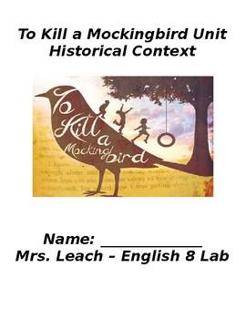 To Kill a Mockingbird Historical Background
