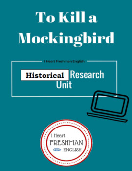 To Kill a Mockingbird Historical Background Research Project
