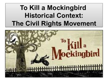 To Kill a Mockingbird Historical Context Lesson