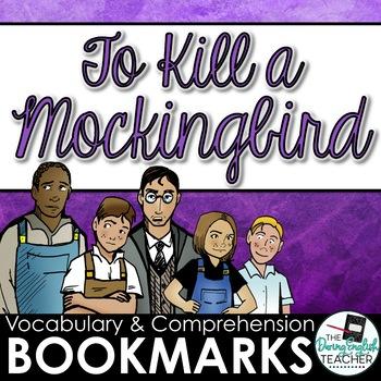 To Kill a Mockingbird Interactive Bookmarks