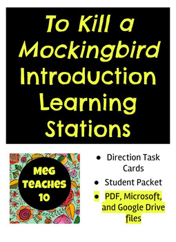 To Kill a Mockingbird - Introduction Learning Stations