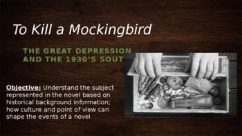 To Kill a Mockingbird Introduction Notes