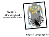 To Kill a Mockingbird: Introduction to Novel Study