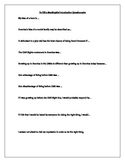 To Kill a Mockingbird Introductory Discussion Questions