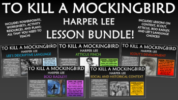 To Kill a Mockingbird Lesson Bundle!