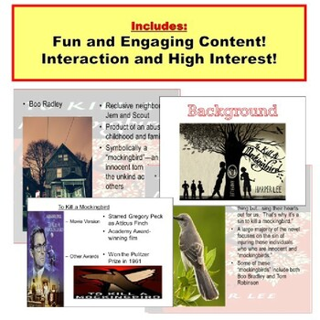 To Kill a Mockingbird Lesson Powerpoint