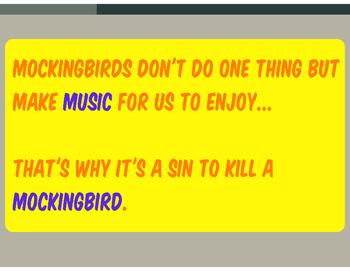 To Kill a Mockingbird Lesson Prezi Presentation